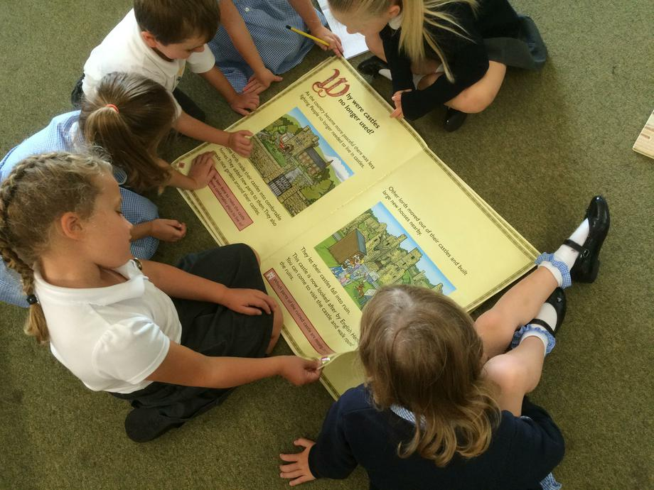 Independent research into Castles