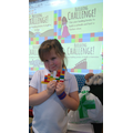 Children have completed Lego challenges!