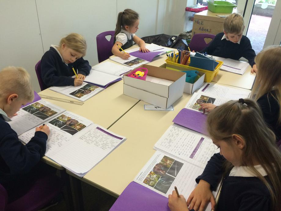 Writing up our Independent Stories...