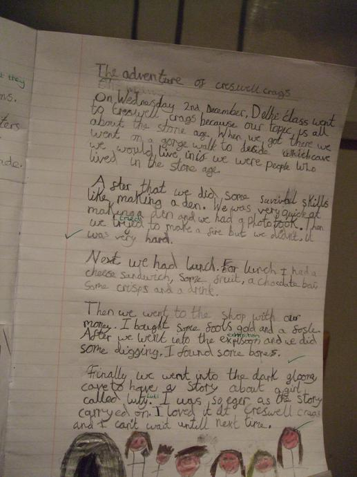 Year 3 work - joined up and super neat!