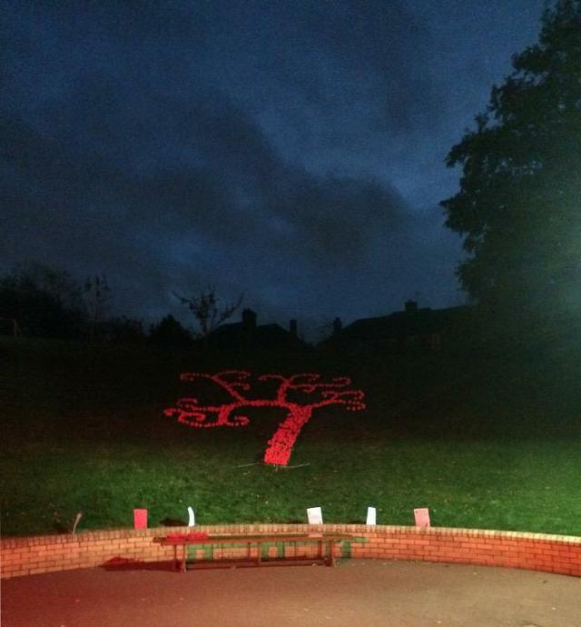 Hollingwood Tree of Remembrance and Peace