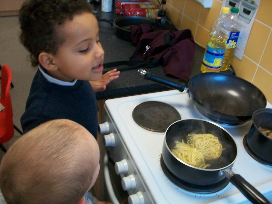 We made noodles this week for Chinese New Year!