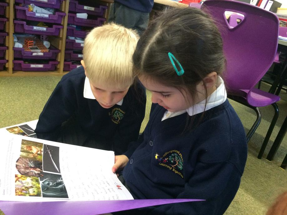 There are some great plot twists in our stories!