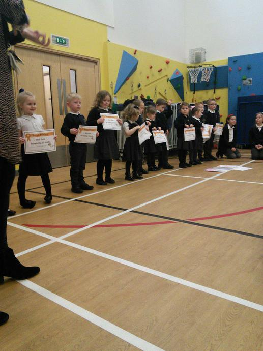 Reading Certificates!