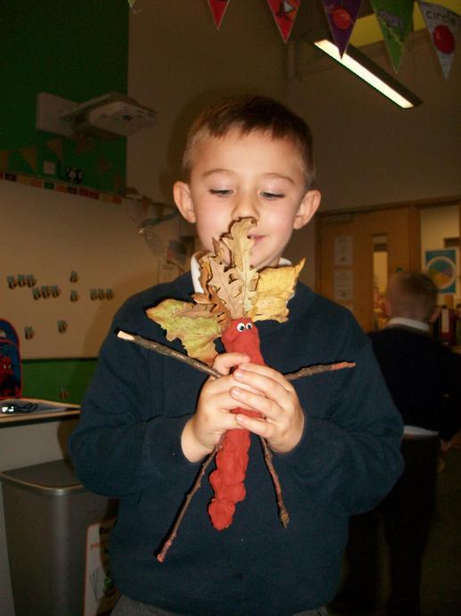 A fabulous stickman- we love his hair!