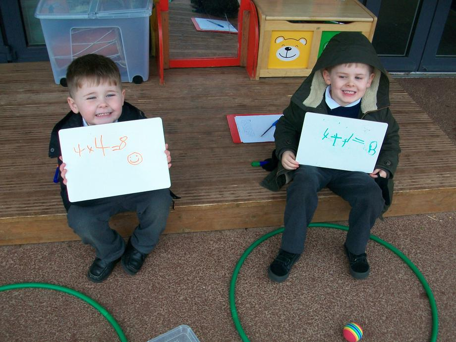 Doubling in maths!