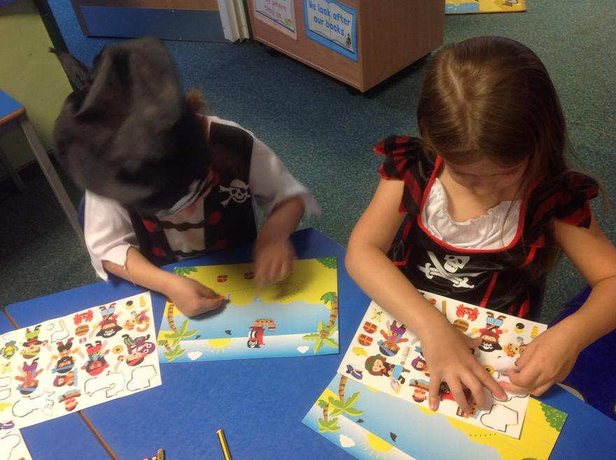 Creating our own Pirate Pictures