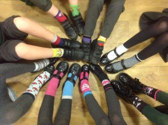 Our odd socks taught us that we are all different