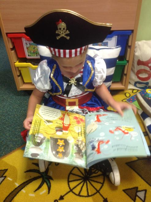 Reading Pirate stories