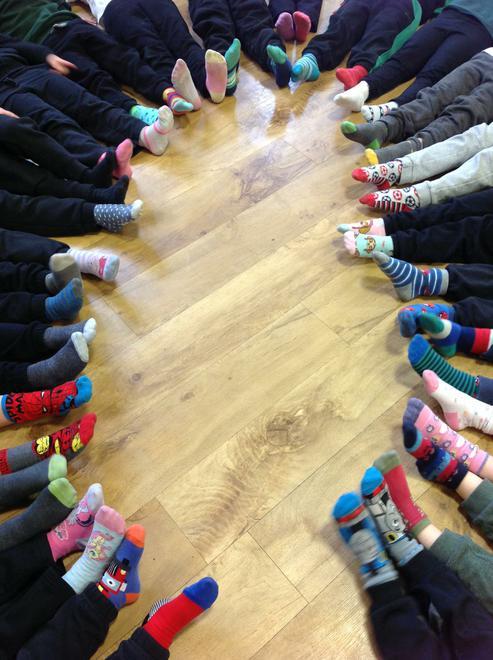 Odd Socks Monday - We celebrate differences!
