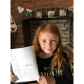 Rosie has completed some tough fractions work!!