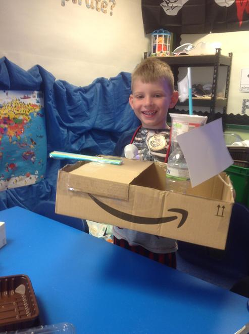 Creating our own Pirate Ships