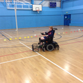 Electric wheelchair football
