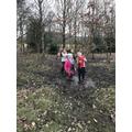 We love muddy puddles.