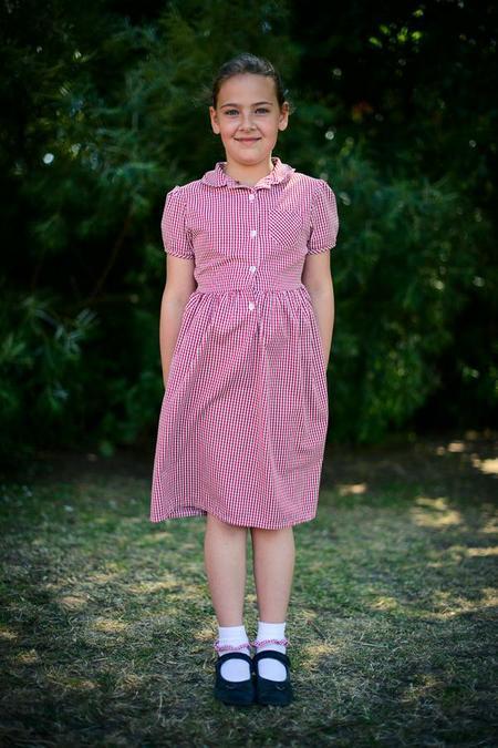 Girls summer dress (skirt/trousers are an option)