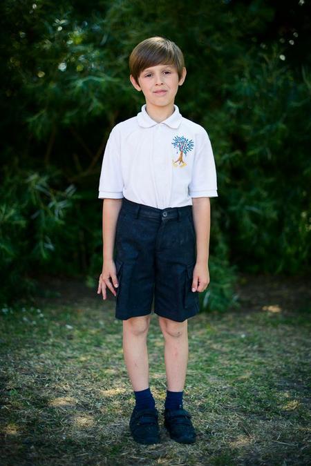Boys summer uniform (trousers are an option)