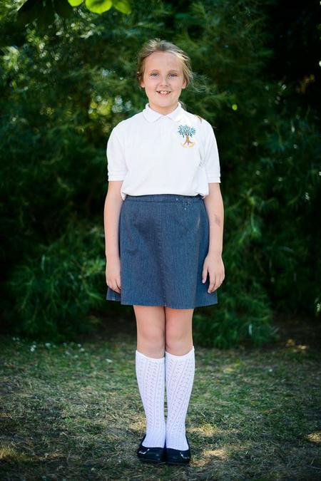 Girls all year uniform