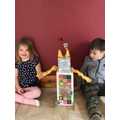 Austin & Effie have made a robot!