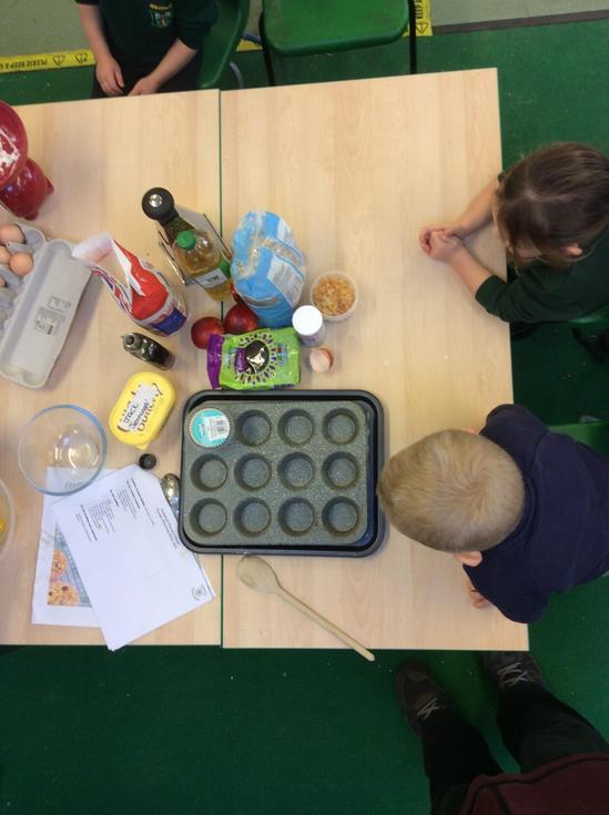 We needed lots of ingredients...