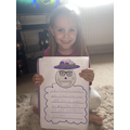 Rosie has written about an emoji!