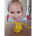 Ruby made a Beegu model! #gridchallenge