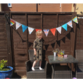 CC#23 - Delilah's VE Day Bunting!
