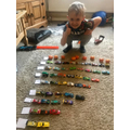 CC#8 - George's car numberline!