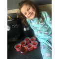 Bonnie has been making jelly!