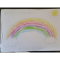 CC#3 - George's beautiful rainbow.
