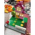CC#4 - Bonnie has made a lovely lego house.