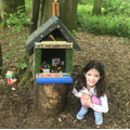 Sophie has found a fairy house