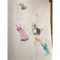 CC#13 - Animal writing from Sophie