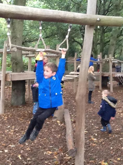 Mastering the monkey bars