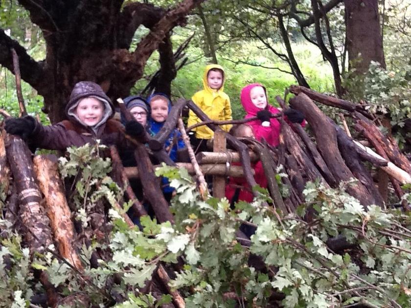 Mrs Cottee's groups den