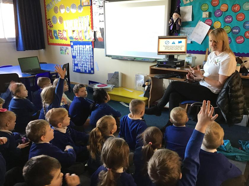 Learning to stay safe when using the internet