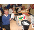 Some children really enjoyed recycling!