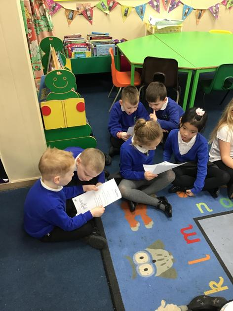 Puffin Class learned the poem The Wind.
