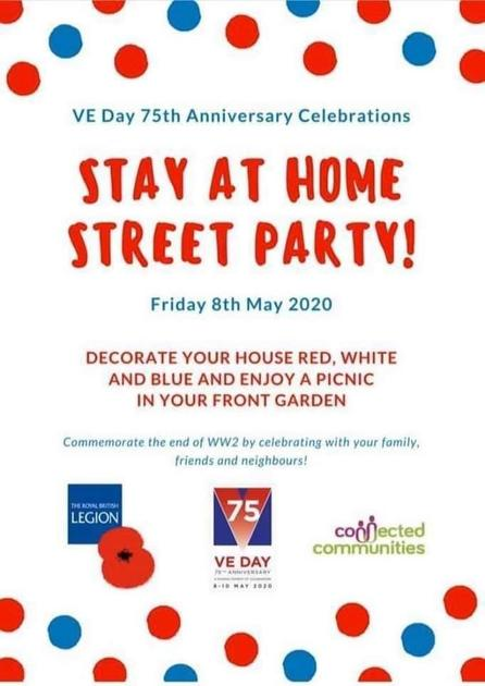 VE Day Home Celebrations at Home