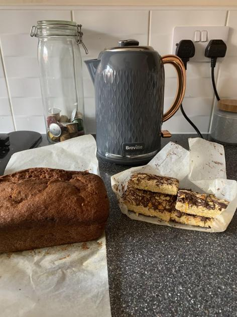 Miss Fretwell's famous Banana Bread and Shortbread