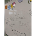 We have been discussing our favourite books.