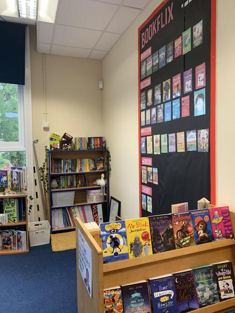 My favourite part of the classroom- our reading corner!