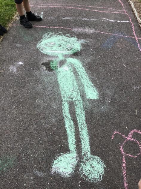 James drew The Statue of Liberty