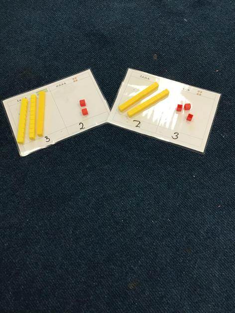 We are learning about place value.