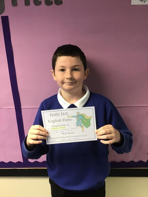 Samuel is Swan Hero for English this week. He has written an amazing oxymoron poem!