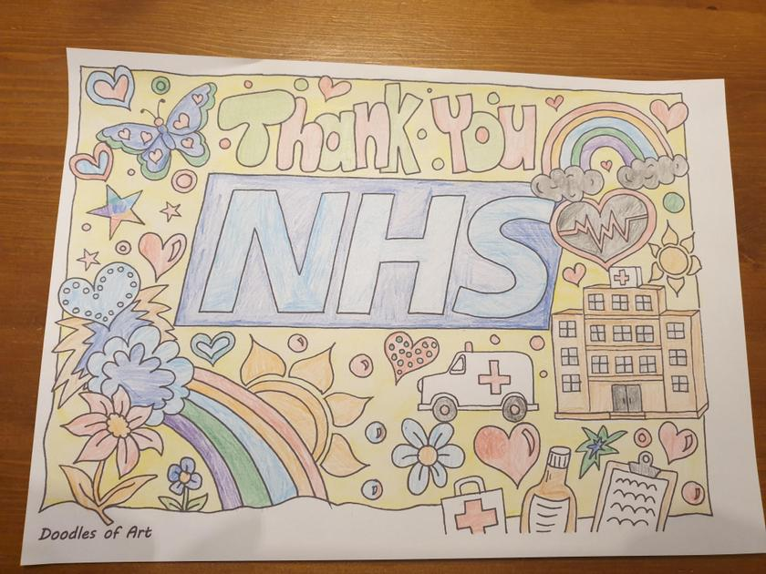 Staying home helps our fabulous NHS!