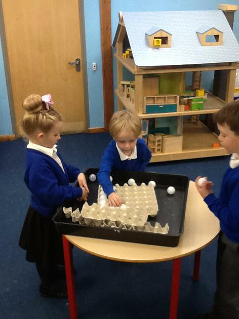 Continuous provision - finding missing numbers