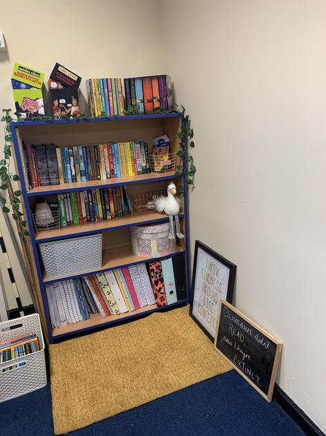 This is where special books live which belong to me, and you'll be able to loan them.