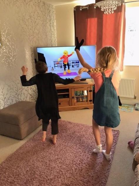 Sophie Dancing