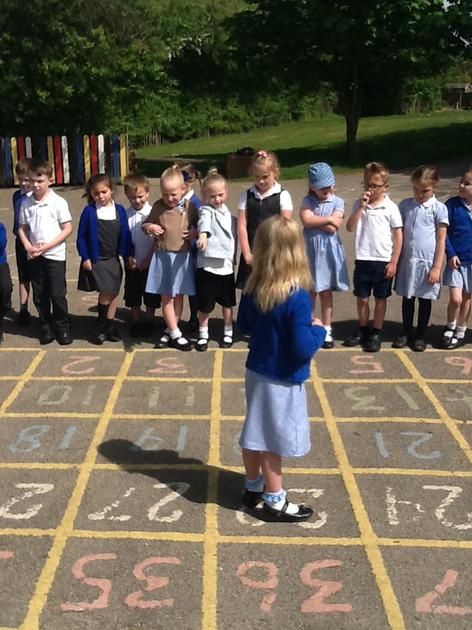 We learnt about left, right, forwards, backwards