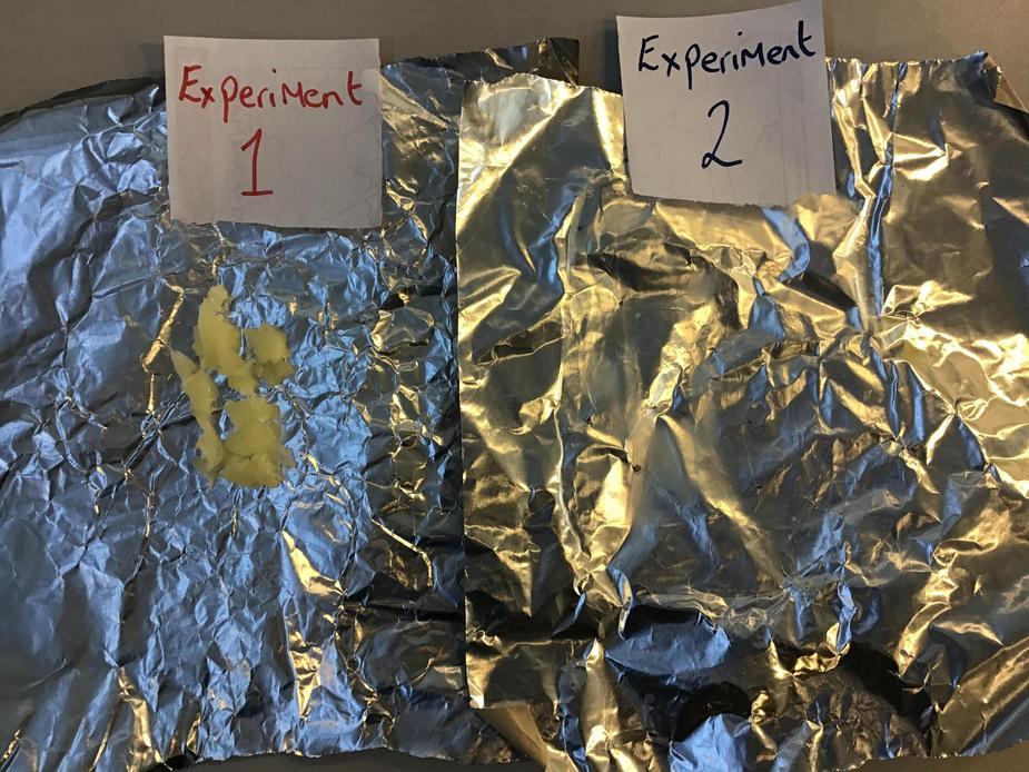 Experiment 2 options